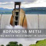 NBI TAKES ON MASSIVE WATER CHALLENGE