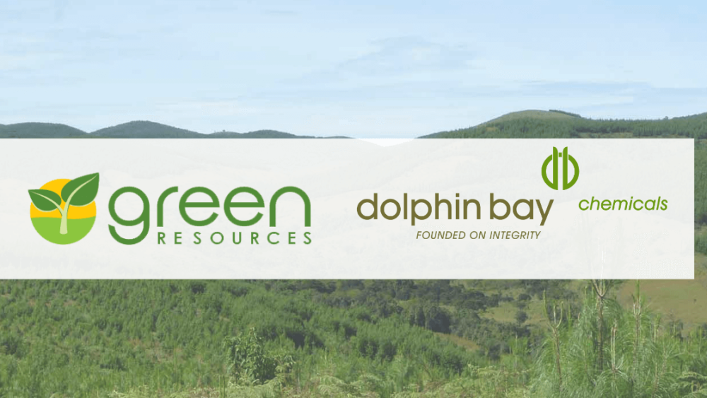 Green Resources and Dolphin Bay Chemicals