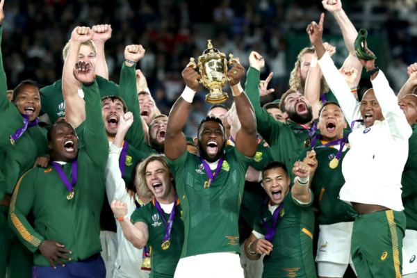 RUGBY WORLD CUP VICTORY PROVIDES MODEL FOR SA'S ECONOMIC TURNAROUND