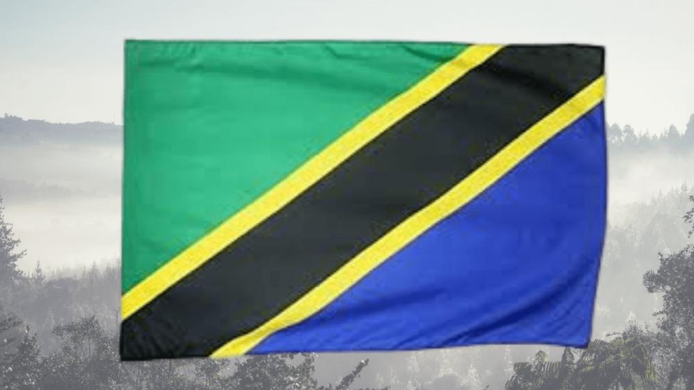 Tanzania flag, Poles Tanzania
